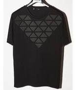 Men's Black T-Shirt Giuliano Fujiwara Designer Shirt 100% Cotton Fashion... - $125.77