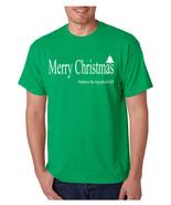 Men's T Shirt Matthew The Apostle Merry Christmas Tee Holiday - $17.94+
