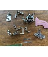 Vintage 1947 Singer Sewing Machine Attachments 121897 Original Box Xtras... - $36.10