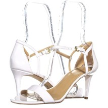 MICHAEL Michael Kors Simone Mid Sandal Ankle Strap Sandals 114, Optic Wh... - £30.03 GBP