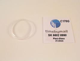 Watch Crystal For Seiko 6602 8990 Sea Horse Diashock Plexi-Glass Part C170G - $19.72