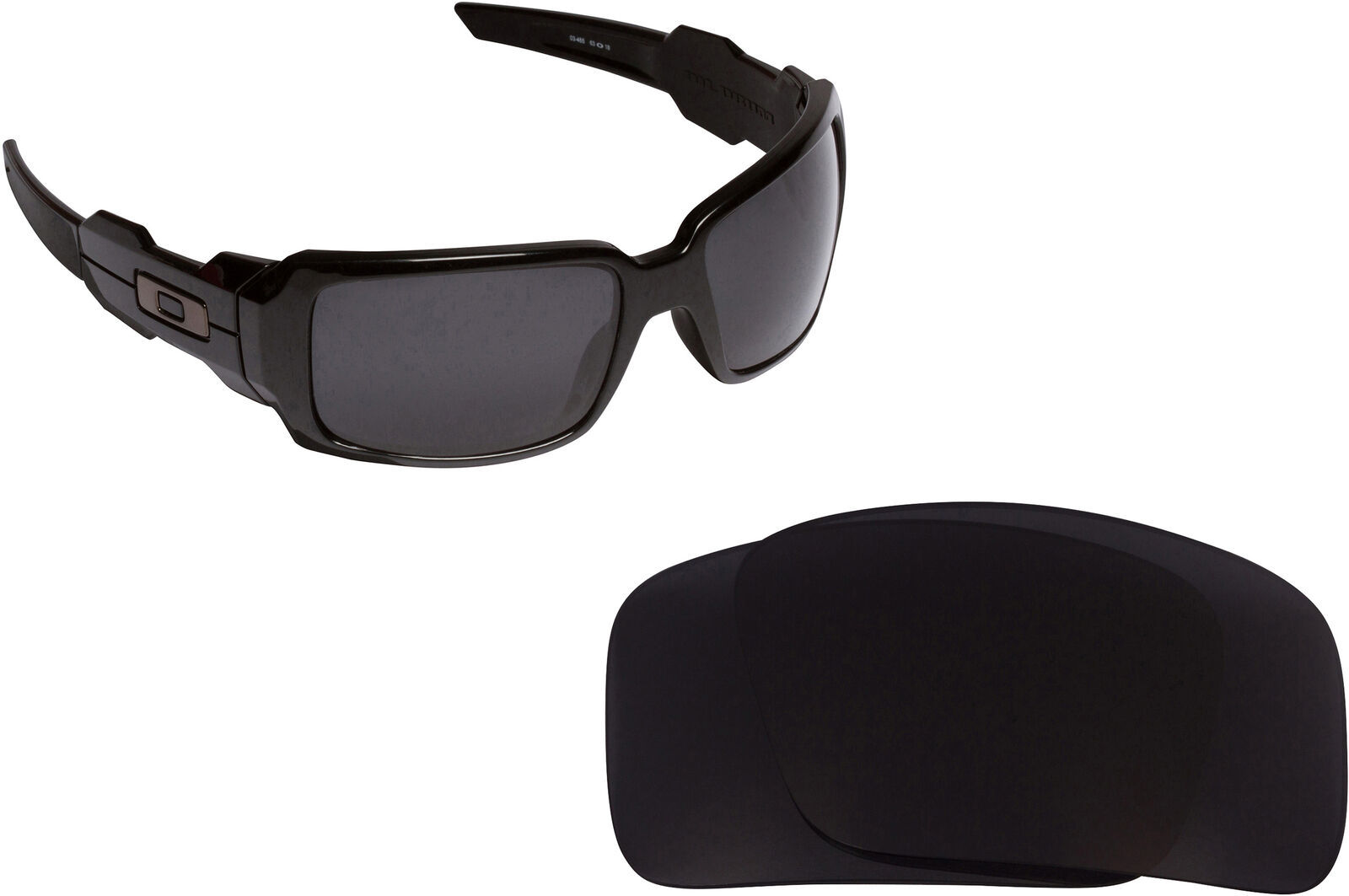 Primary image for Replacement Lenses for-Oakley Oil Drum Sunglasses Anti-Scratch Multi-Color