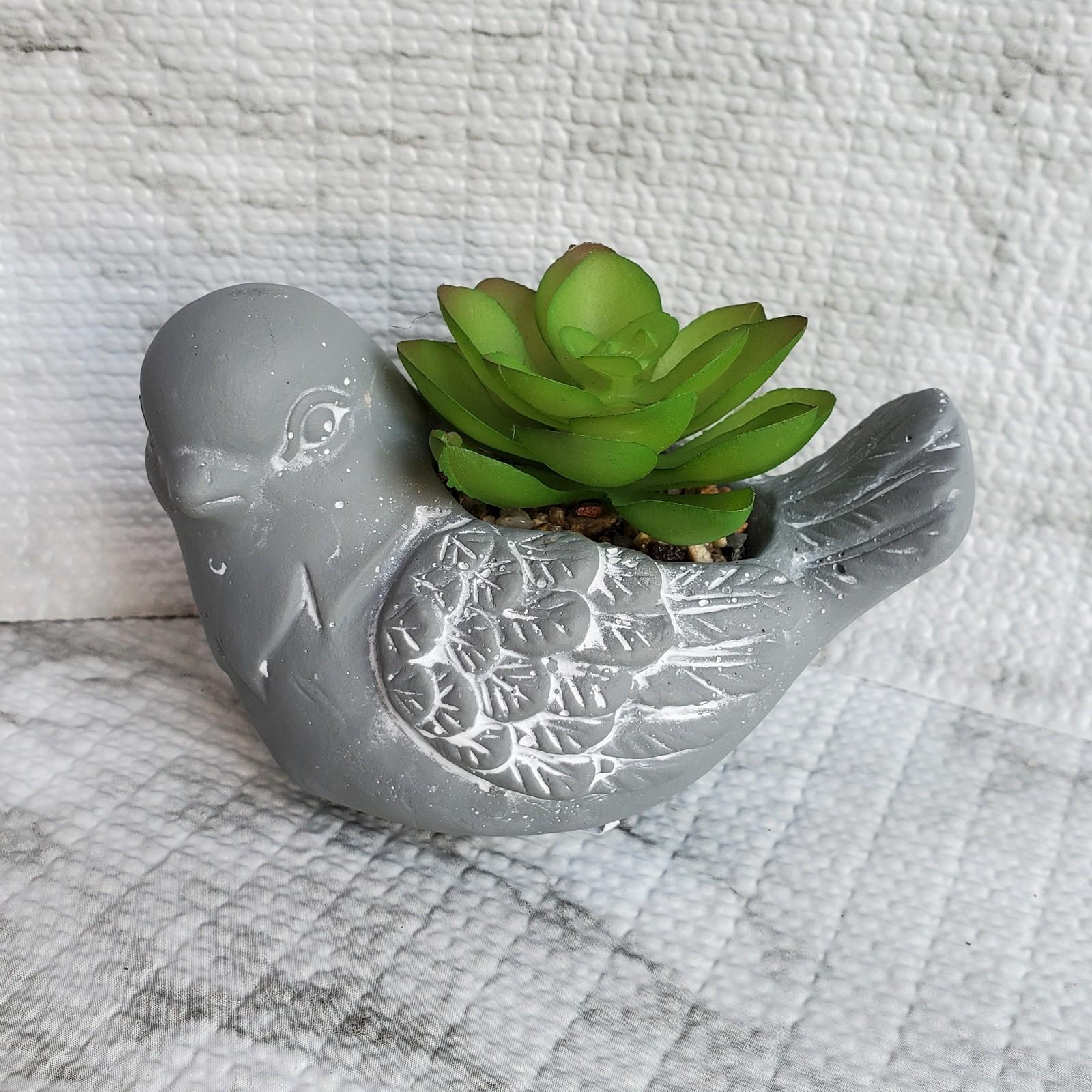 Concretebird fauxsucculent 1