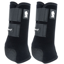 X Lrg Classic Equine Lightweight Legacy2 Front Sports Boots Pair Black U... - $86.12