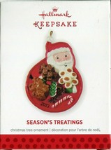 2013 New in Box - Hallmark Keepsake Christmas Ornament - Season's Treatings - $4.45