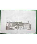 ARCHITECTURE PRINT : Paris Building of Arts et Metiers Conservatory Pers... - $23.59