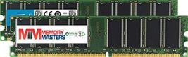 Memory Masters Crucial 2 Gb Kit (2 X 1GB) Ddr PC3200 Unbuffered Non-ECC 184-PIN D - $29.55