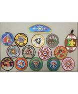 1982-87 Lot of 16 OU Usher Last Frontier Council BSA Boy Scouts Patch Co... - $19.99