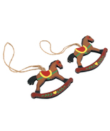3inches Carousel Ornaments Christmas Tree Decorations Baubles x2 - $7.90