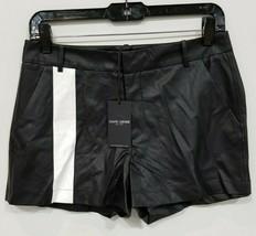 "David Lerner Front Stripe Trouser Short ""Black"" sz S NWT - $40.89"