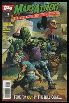 Mars Attacks Baseball Special Comic 1 Topps Simon Bisley cvr art Alien I... - $15.00