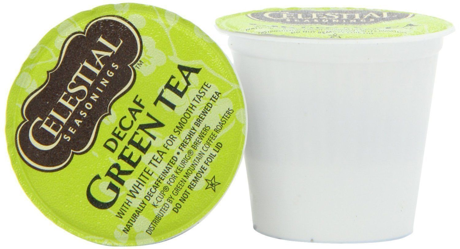 Primary image for Celestial Seasonings Decaf Green Tea 24 to 96 Keurig K cups Pick Your Own Size