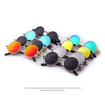 Vintage Women Steampunk Sunglasses Brand Design Round Sun Glasses UV400 ... - $13.99