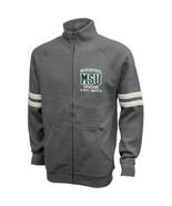 NCAA Michigan State Spartans Benchmark Full Zip, X-Large, Premium Heather - $39.95