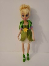 """Tinkerbell Disney Fairy 10"""" doll with classic green outfit RARE HTF sparkle - $39.99"""