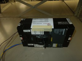 Square D LH 400A Circuit Breaker 400A 3P 600V DC W/ Aux Switch W/ UVR Used  - $1,200.00