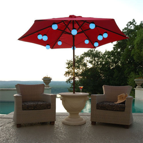 LED Globe Umbrella Lights (8 globe lights) image 2