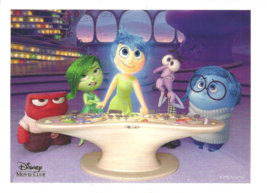 Inside Out Pixar Lithograph Disney Movie Club Exclusive New - $16.00