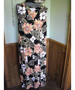 Women's Dress Sleeveless Button Front Worthington Brand Floral Jungle Pr... - $12.00