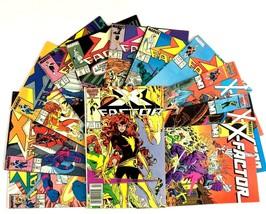 X-Factor Comic Book Lot 12 Issues Marvel X-Men Title Copper Age Archange... - $29.65