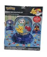 Pokemon Table Decorating Kit 23 Pc Birthday Party Decorations Pikachu Po... - $14.99