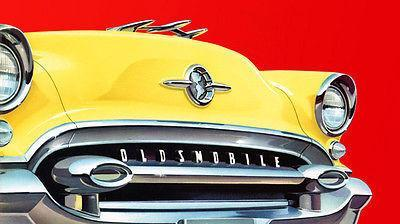 Primary image for 1955 Oldsmobile - Promotional Advertising Poster