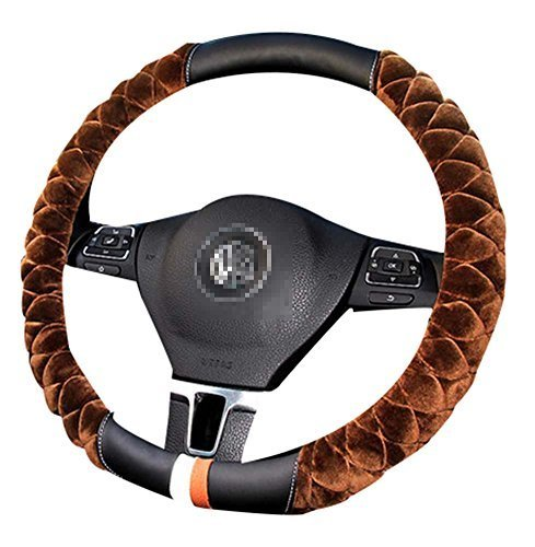 Fashion Car Steering Wheel Cover Anti-Skid Handlebar Set