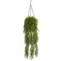 3 ft. Indoor Willow Artificial Plant Hanging Basket - $81.35