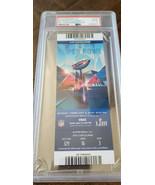 2019 SUPER BOWL 53 LIII FULL TICKET NEW ENGLAND PATRIOTS RAMS $500 PSA 6... - $299.99