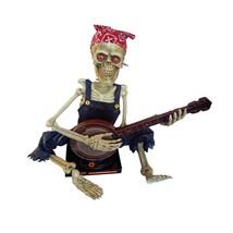 Halloween Animated Banjo Playing Skeleton Halloween Decoration Prop - €75,19 EUR