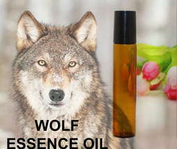 Haunted 27x Essence Of Wolf Protection Loyalty Partner Oil Magick Witch CASSIA4 - $16.50