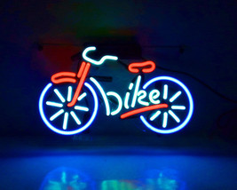"Colour Bicycle Helmet Kneepad Off-Road Beer Bar Neon Light Sign 12""x7"" - $59.00"