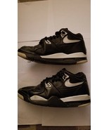NIKE AIR FLIGHT 89 SZ 9 Black Zen Grey 306252-010 2011 - $98.95