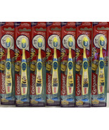Lot (7) Colgate Kids Minions Extra Soft Suction Cup Base Toothbrushes - $14.54