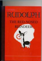 RUDOLPH THE RED-NOSED REINDEER - facsimile of 1939 ed. - $6.00