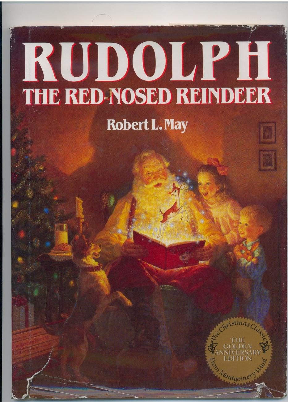 RUDOLPH THE RED-NOSED REINDEER - facsimile of 1939 ed.
