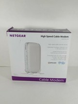 Netgear CMD31T-100NAS 153.6 Mbps Cable Modem - High Speed Opened Box - C... - $24.99