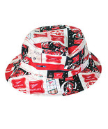 Miller High Life All Over Logos Bucket Hat Red - $29.98