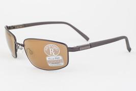 Serengeti Agazzi Satin Dark Brown / Drivers Gold Mirrored Phd Sunglasses... - $177.21
