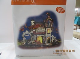 "DEPT 56 HALLOWEEN  SNOW VILLAGE "" REST IN PEACE TOMBSTONE"" (9) - £127.96 GBP"