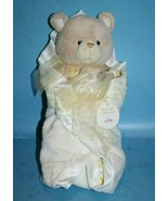 Baby GUND Swaddled Bear Security Blanket Satin 58612 Plush Soft Toy Stuf... - $38.67