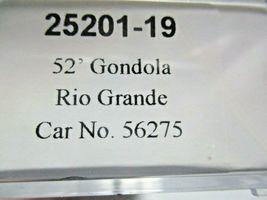 Trainworx Stock # 25201-23 to -24  Rio Grande Orange Paint Scheme 52' Gondola (N image 4