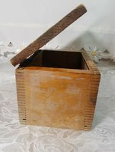 VINTAGE CLARITE HIGH SPEED COLUMBIA TOOL STEEL CO. WOODEN BOX image 10