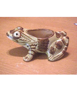 Brush Pottery 8 Inch Frog Planter #B823 - $26.50