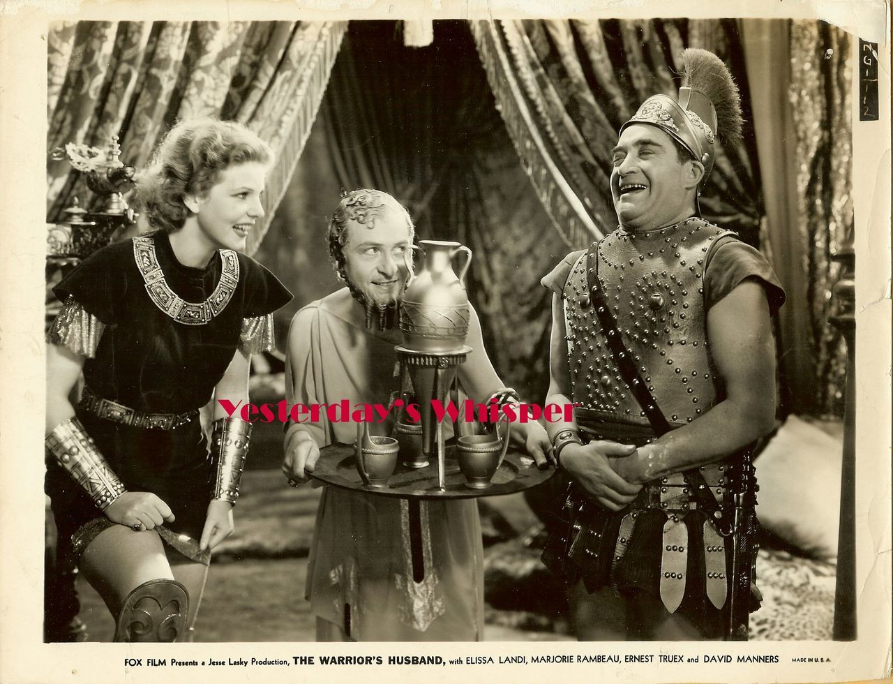 1930s Elissa Landi The Warrior's Husband Original Photo M613