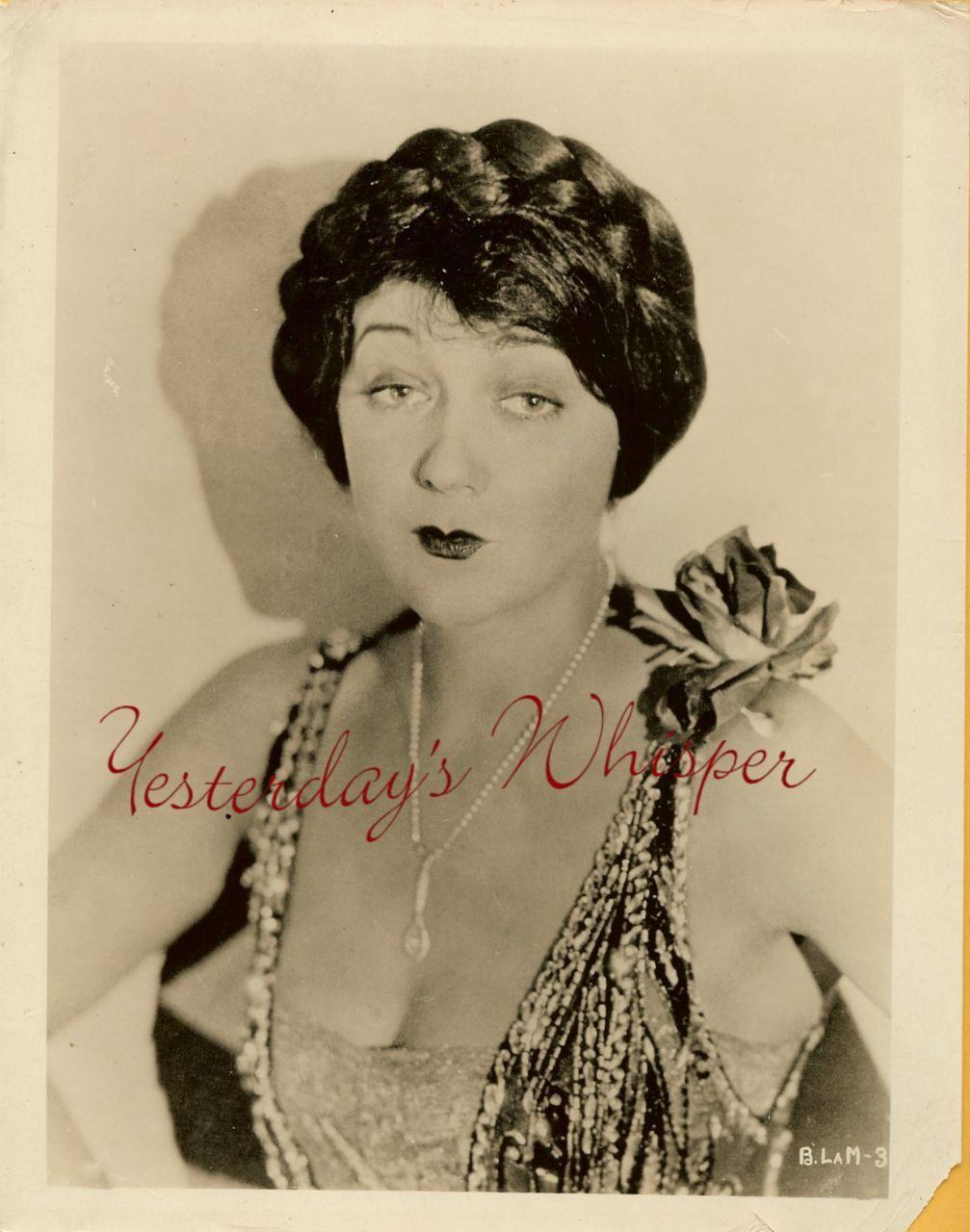 Barbara La MARR TRAGIC Diva FLAPPER ORIGINAL Rare PHOTO