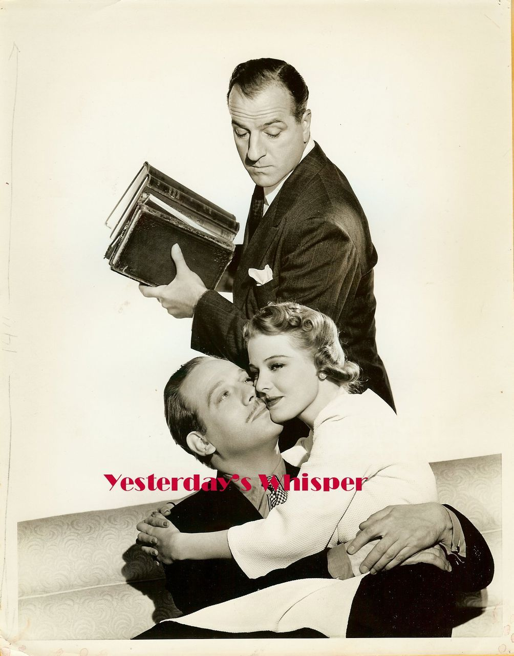 1930s Melvyn Douglas Louis Calhern Original MGM Photo