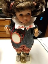 Little Girls And Boyds Porcelain Doll Annie - $91.92