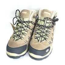 Hi-Tec Women's Bandera Mid-Rise Waterproof Hiking Boot 11M Taupe/Blush - $39.95