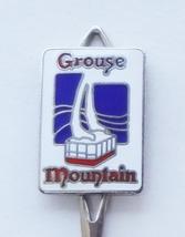 Collector Souvenir Spoon Canada BC Vancouver Grouse Mountain Cloisonne E... - $6.99